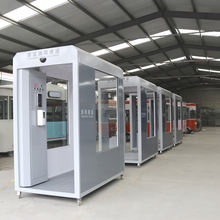 factory wholesale!! mobile Disinfection Channel machine/Anti-virus disinfection tunnel/automatic disinfection booth