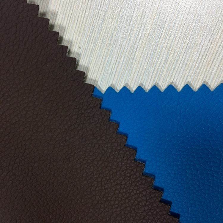 Embossed PVC leather for car seats cover breathable PVC synthetic leather for sofa