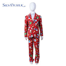 Holiday wear Christmas 2 pieces set pants blazers boy suit set