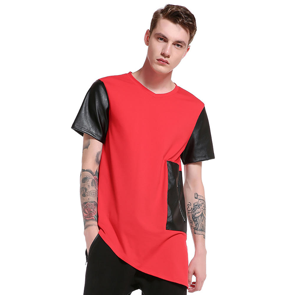 High quality short sleeve 100% heavy cotton oversized t shirt