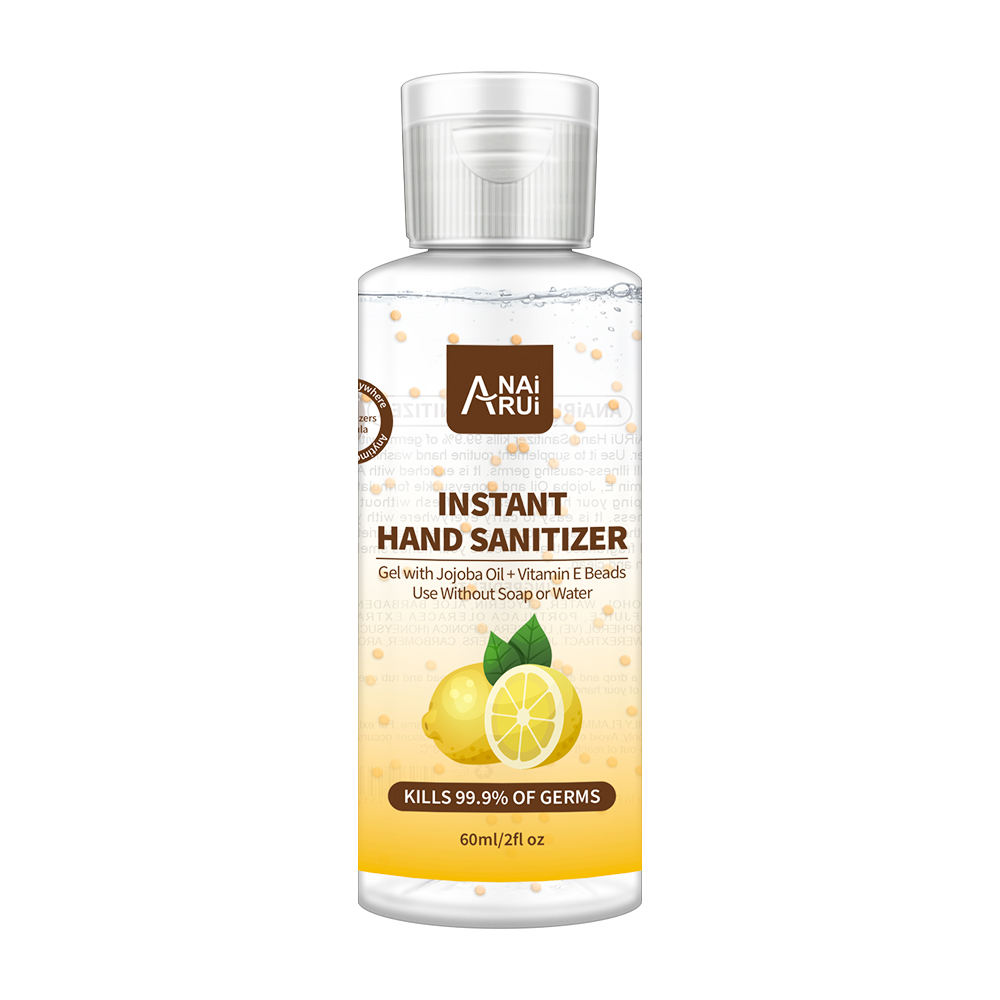 2020 Hot Selling 60 Ml Handdesinfecterend Alcohol Gel 75% Met 99% Ontsmettingsmiddel Rate Hand Water Gratis