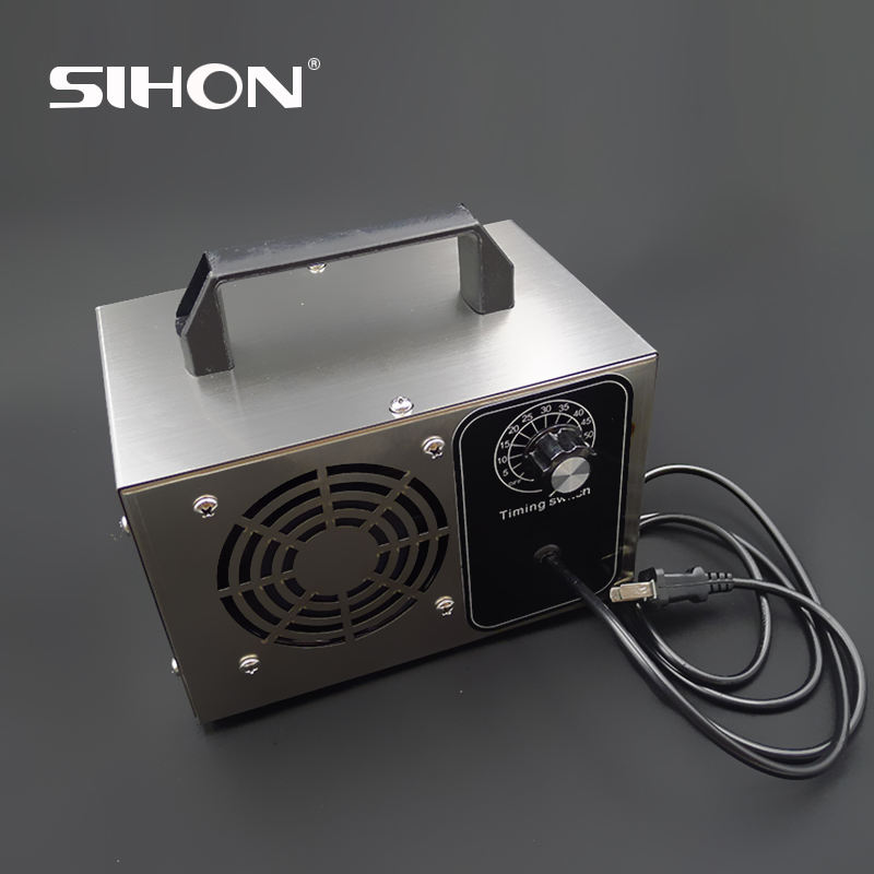 10000mg/h with timer 110v/220v ozone generator, used to kill mold, permanently remove tobacco, pet bath