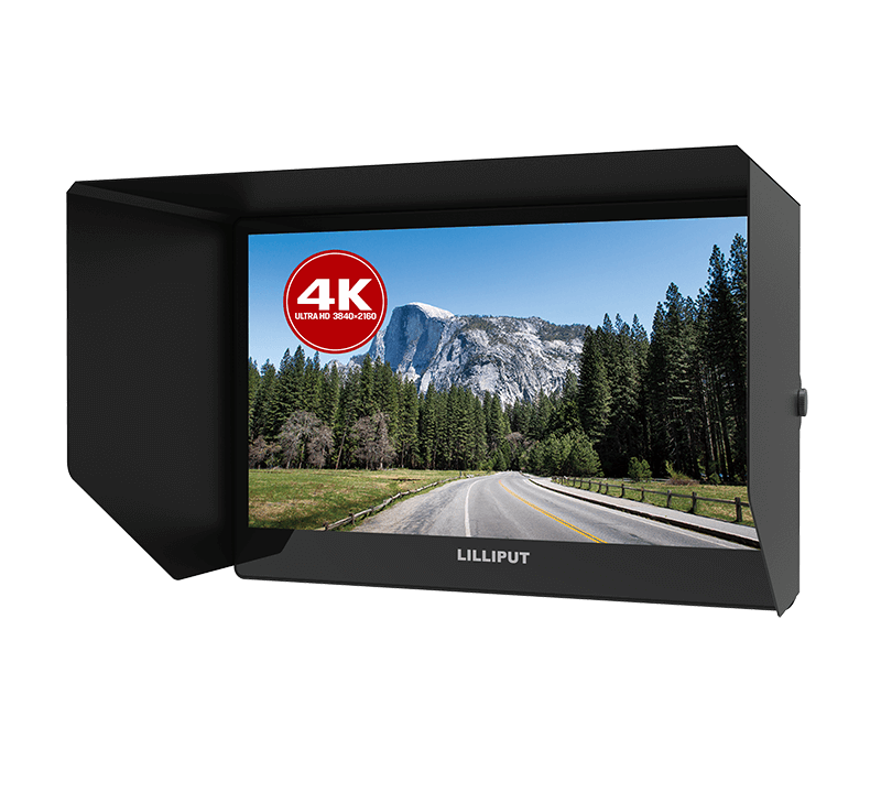 Siaran Monitor Video Membantu 12.5 Inci 4K Full HD Camcorder DSLR Studio Monitor Top Monitor