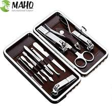 Multiple Nail Nursing Tools Personal Manicure and Pedicure Set