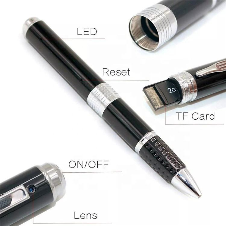 HD 1080P Real Video Schrijven SPY Pen CCTV Camera mini smart Verborgen pen CAMERA