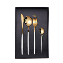 Best Selling International 410 Stainless Steel Flatware Spoon Fork Gift Box Cutlery Set