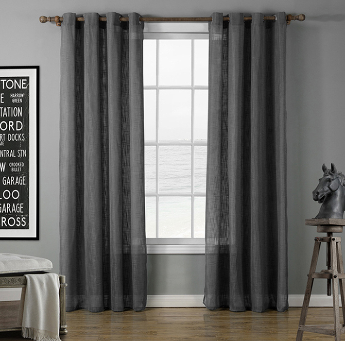 Latest Design Fancy Embroidery Silk Velvet Curtain for Study Room Window