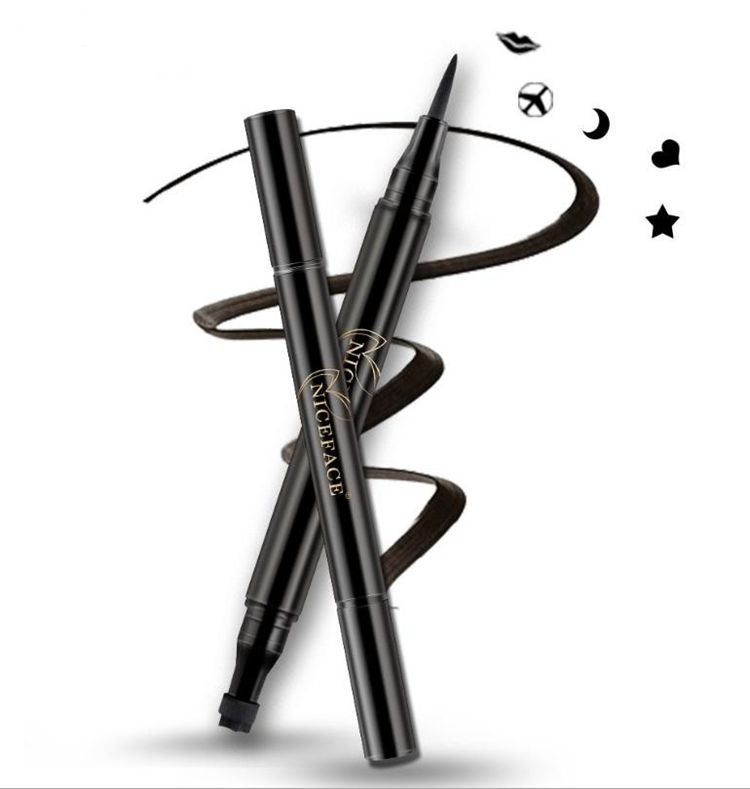 private label ce approved makeup star eyeliner pencil with stamp