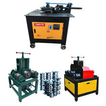 Building Material Machinery Hydraulic Tube Bender / Stainless Steel Pipe Bending Machine