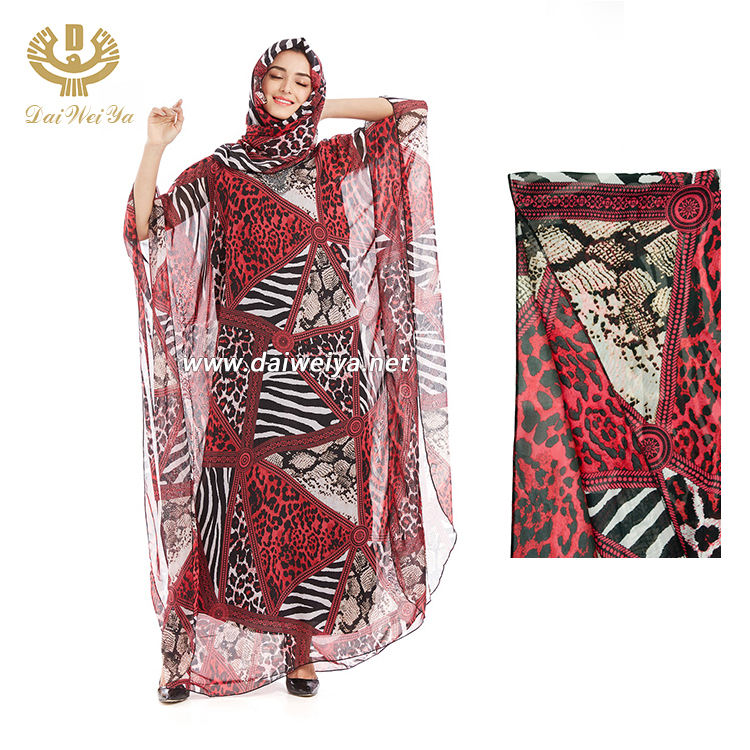 Wholesale Long Sleeve Modest Gown Plus Size Islamic Clothing Abaya Muslim African Dress Kaftan