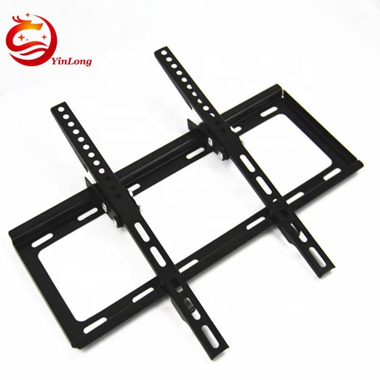 Tilt LED LCD Wall Bracket 50 kg Loading Capacity Flat Panel TV Wall Mount For 26-55 Inch TV