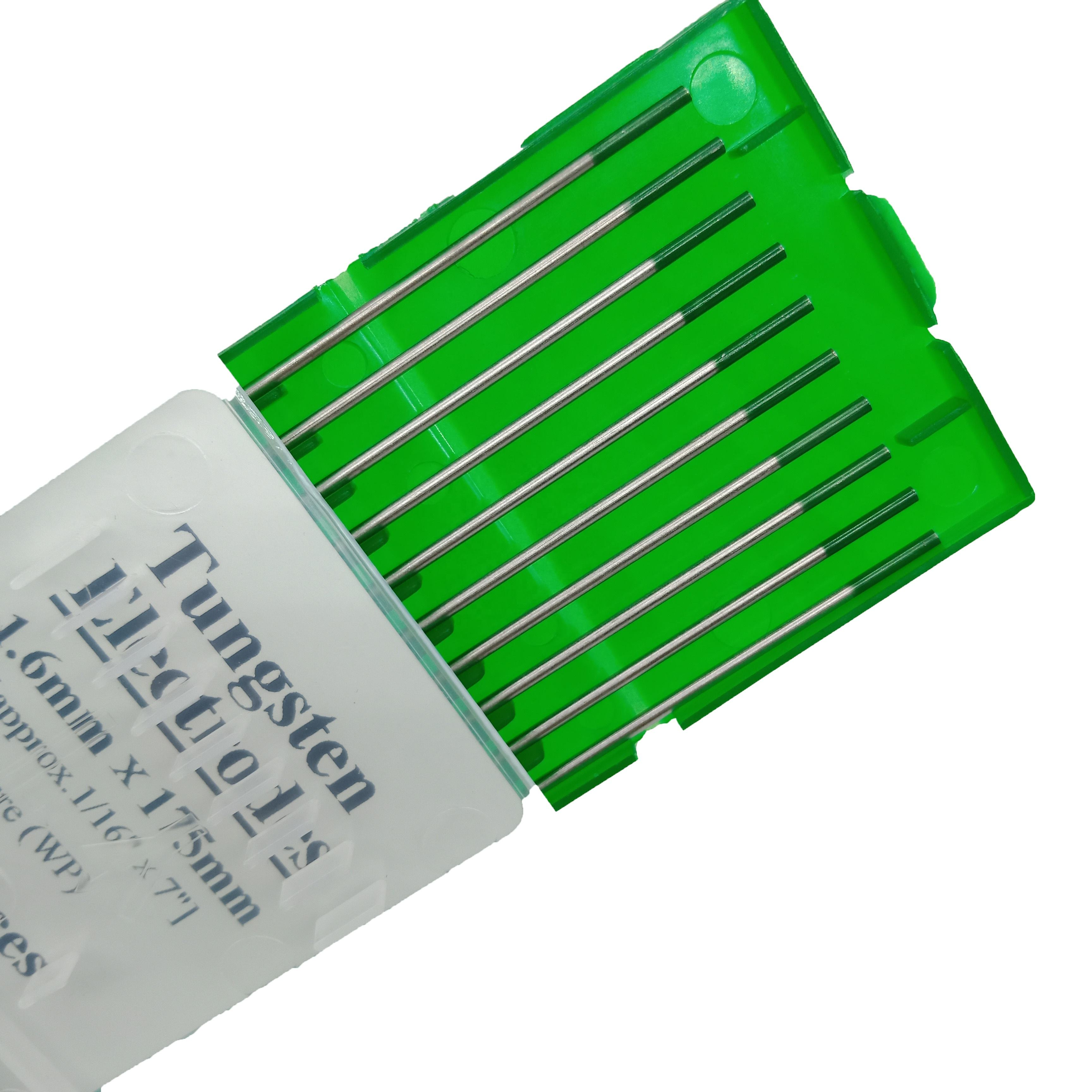 Green Tip WP 3.2mm*175mm Tig Welding Electrodes Tungsten