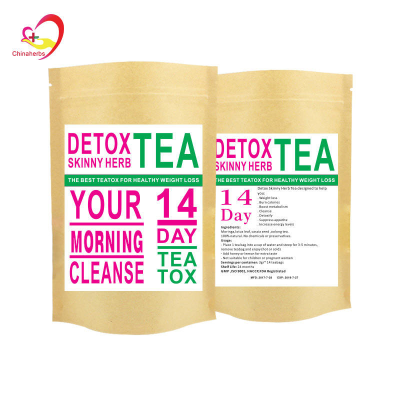 Flat tummy tea detox fat bunner slim detox tea hot selling