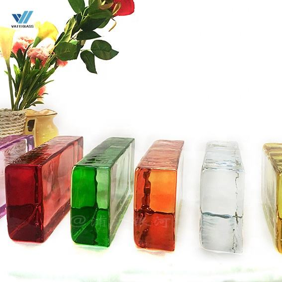 High Quality Clear & Color Glass Block / Glass Brick