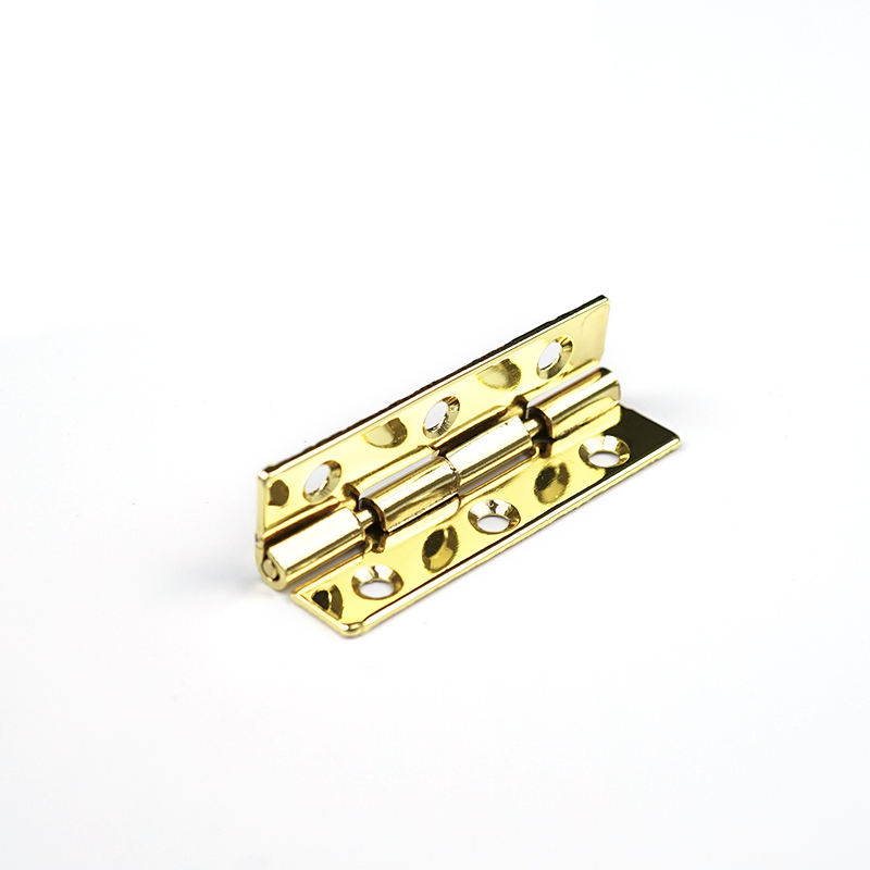 High Quality ODM Jewelry Box Hinge Hardware in Golden Color