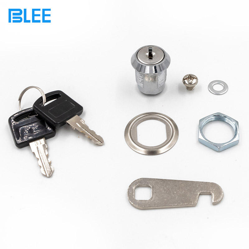 16mm Stainless Steel Cam Locks Arcade Coin Operated Door Lock Cam Locks For Vending Machines