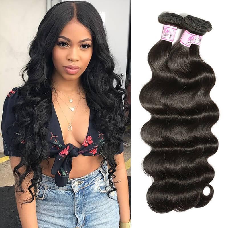 wholesale tangle free private label brazilian human hair virgin body wave hair bundles