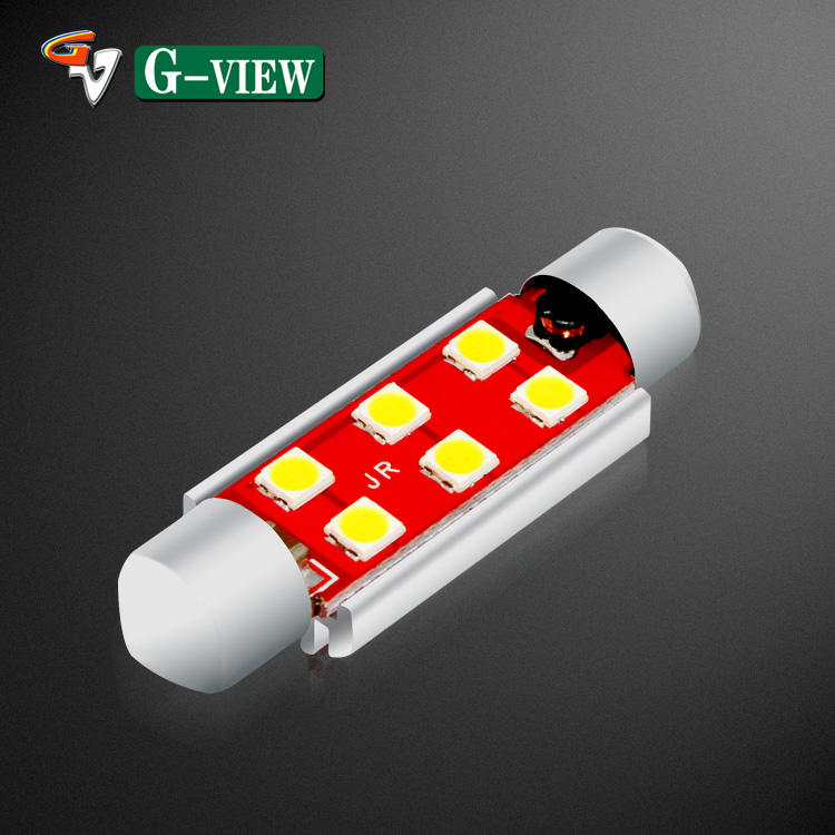 New 2020 car led lamp manufacturer 41mm led license plate lights lamp auto