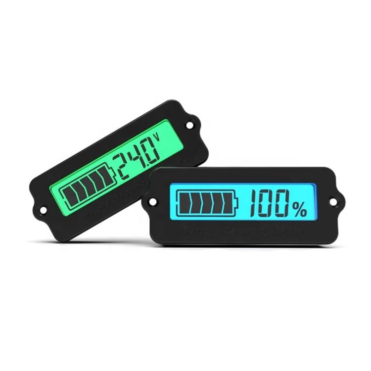 12V LY6W Lead Acid Battery Capacity Indicator LCD Digit Display Meter Lithium Battery Power Level Detector Tester