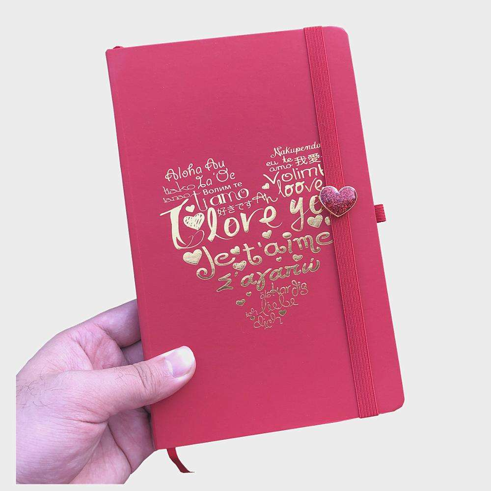 wholesale blank journals composition notebooks bulk lovely red heart