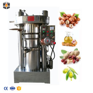 6YZ-150 cold press almond oil machine/ sesame oil mill machine/hydraulic oil presser for oil production on promotion