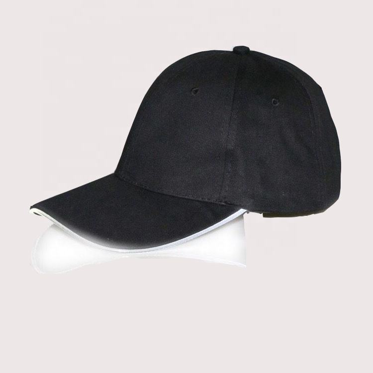 OEM ODM logo baseball cap led light up hat