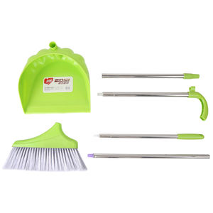Factory Price Maryya Plastic Floor Cleaning Easy Sweeping Broom and Dustpan Set