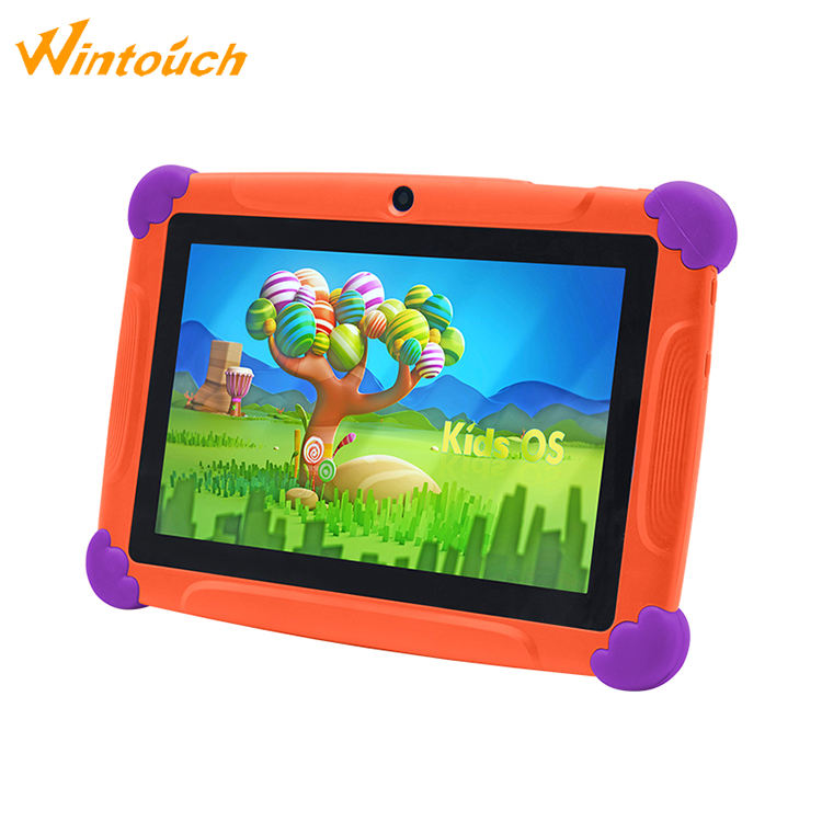 The cheap kids android 4.4 rugged tablet 7 inch tablet pc for children