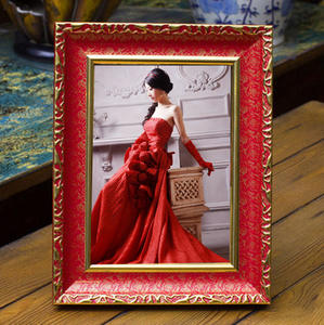 European Style Plastic Painting Frame Art Photo Picture Ps Moulding Frame Wall Decoration Painting Frame