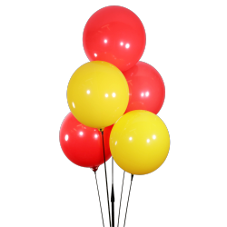 BalloonBobber Cluster Kit Red, Yellow