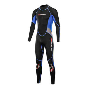 Chest Zip Super Stretch Men's Diving Suit Neoprene Snorkel Spearfishing Surfing Jumpsuit Swim Wetsuits
