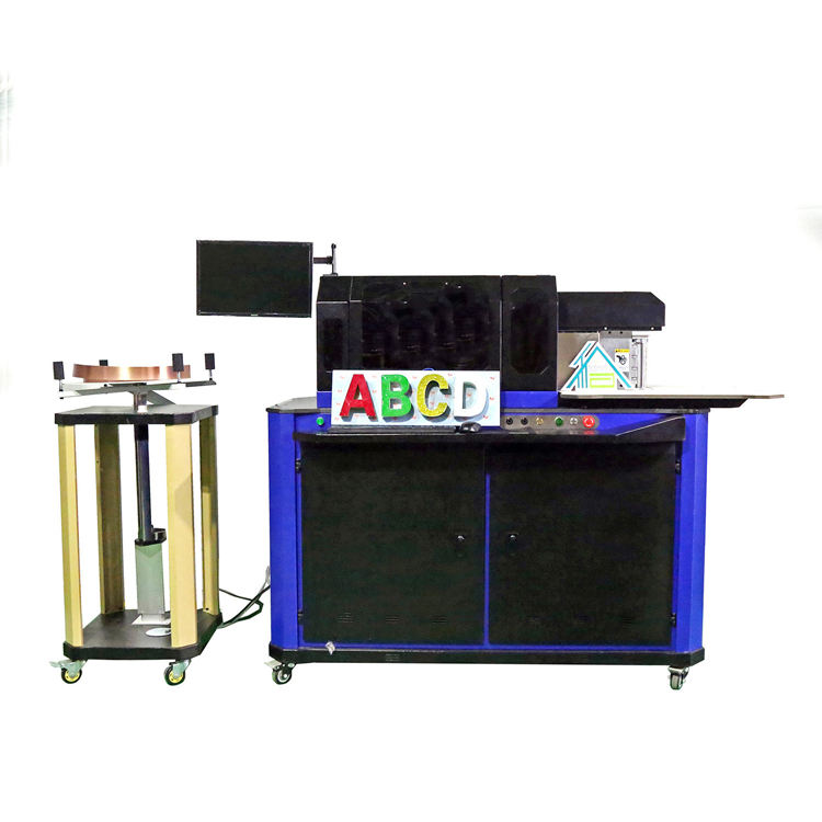 Multi-function letter bending machine used in Signs Neon Signs Advertising Billboards