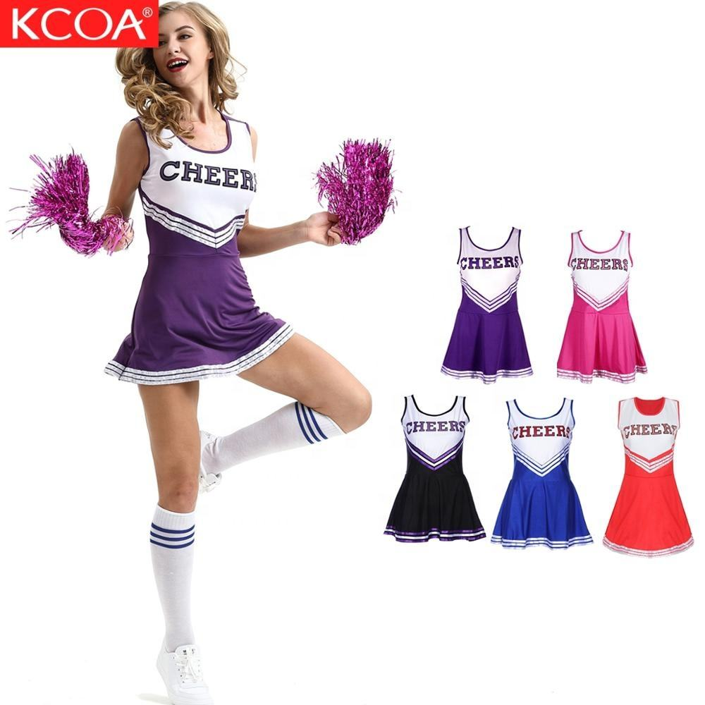 Atacado plus size adulto traje cheerleading cheerleading uniformes sublimação personalizado