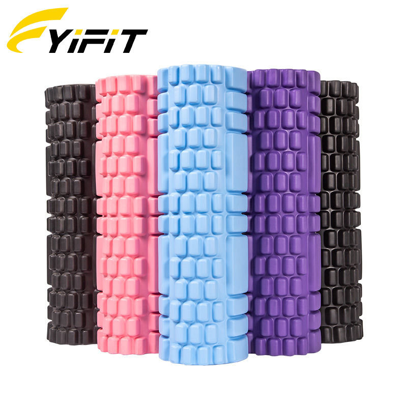 Gym cork china fitness massage yoga wheel roller column Eva paint foam roller