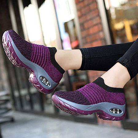 New Design Running Sport Shoes High Quality Breathable Gym Casual Sneaker Women