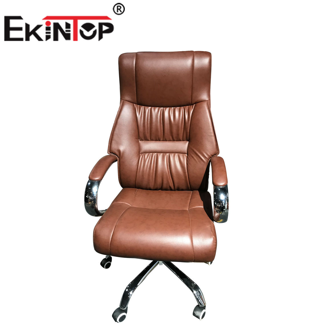 American style office furniture solid wood leather comfortable executive chair