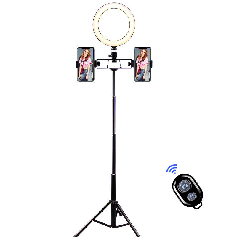 Photography Makeup Studio uv led ring light with stand flexible monopod selfie stick