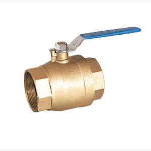 long handle DN25 pn16 female threaded end mini brass ball valve for gas