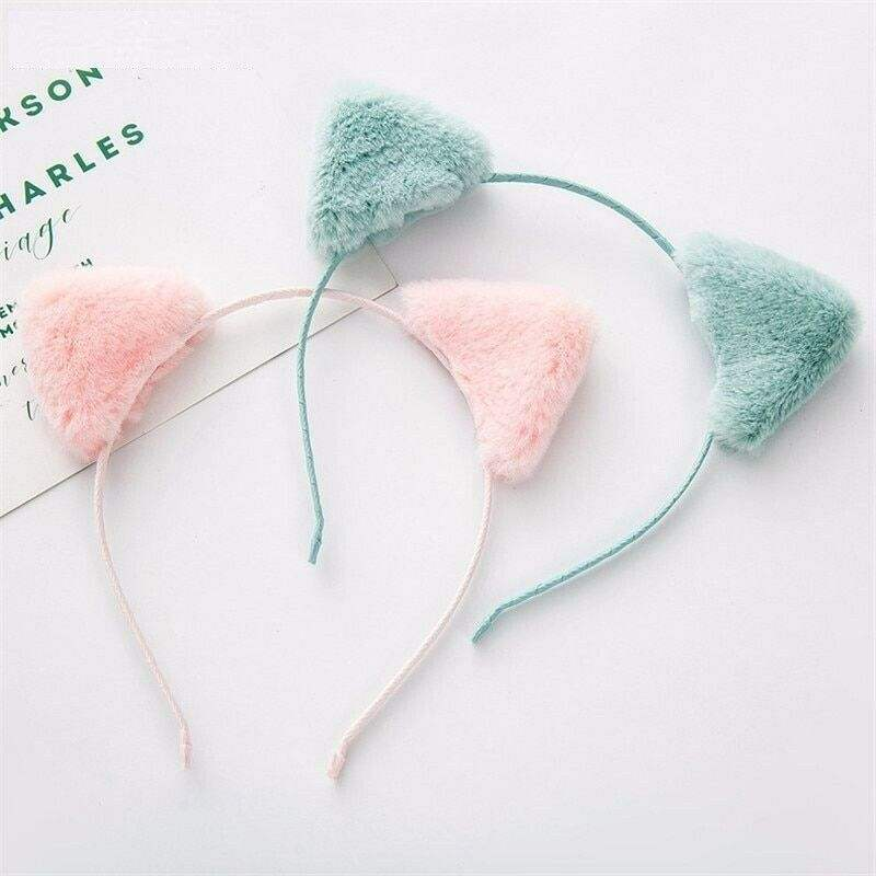 Fashionable Children Hairband Soft Cute Cat Ear Designed Headband Accessories Hairband Girls