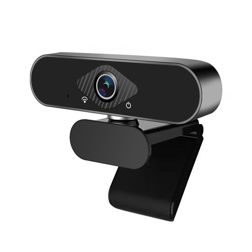 Webcam Mini 1080P Với Microphone Tripod Tự Động Lấy Nét USB USB Microsoft Webcam Cho Windows 10 Mini Webcam