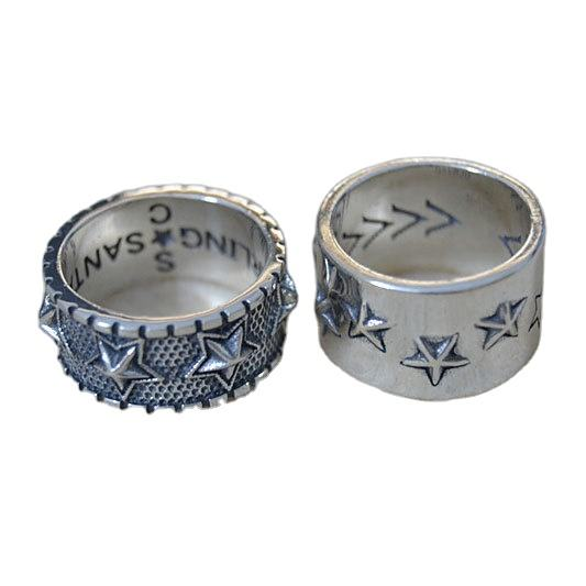 Wu Yifan fashion jewelryPunk tail ring retro Thai silver star RING 925 Sterling Silver Ring female Spot wholesale