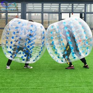 Hot Sale High Quality 100% TPU Inflatable Human Body Adult Bumper Bubble Ball inflatable bubble soccer inflatable football ball