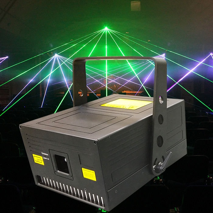 Factory price 15W RGB portable laser light beam show