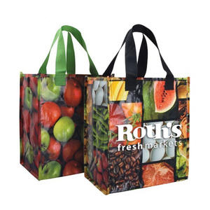 2020 Hot Sale custom eco non-woven bags durable handled laminated pp non woven bag