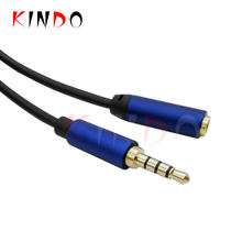 3.5MM Male to Female Gold Plated Aux Audio Cable Stereo Cable