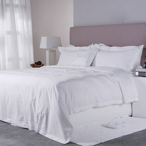 Luxury New Designs Egyptian Cotton Bedding Set Manufacturers White Hotel Flat Bed Sheet