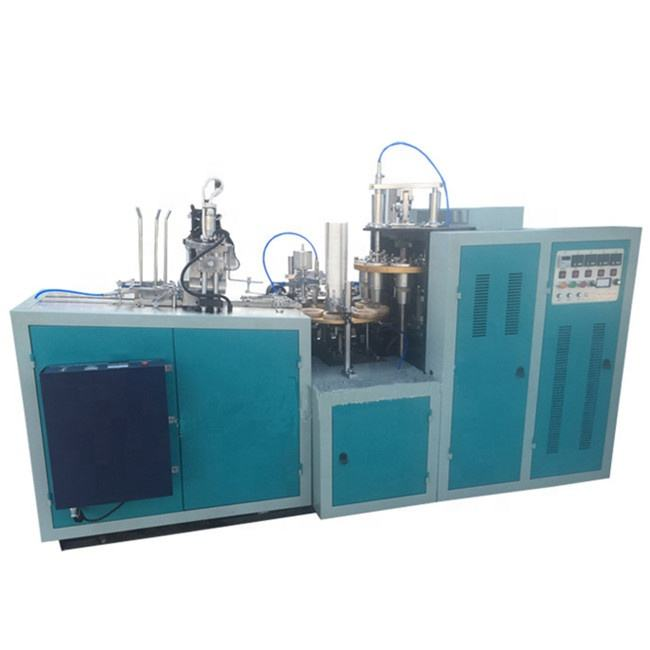 Double PE Ultrasonic Paper Cup Forming Making Machine