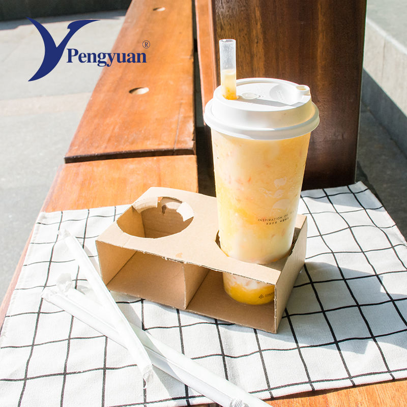 Disposable Coffee Cup Plastic 700ml Cups High-end Design Disposable White Plastic Coffee Cup 700ml