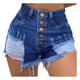 Women Jean Shorts Shorts Ripped Jeans Shorts Women Factory OEM High Waist Distressed Sexy Women Blue Cut Up Denim Ripped Jean Shorts