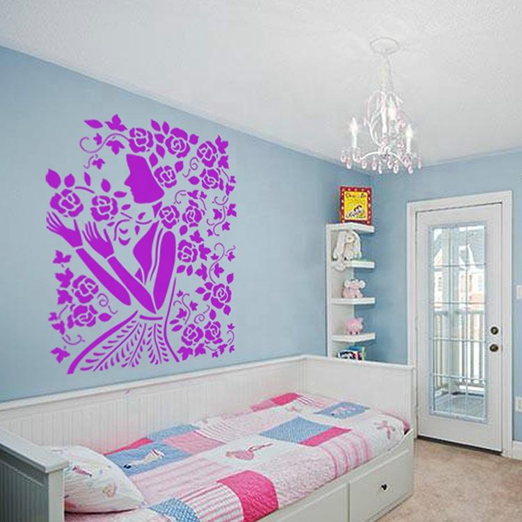New Design PET Stencils for Wall Painting Wall Stencil for Painting